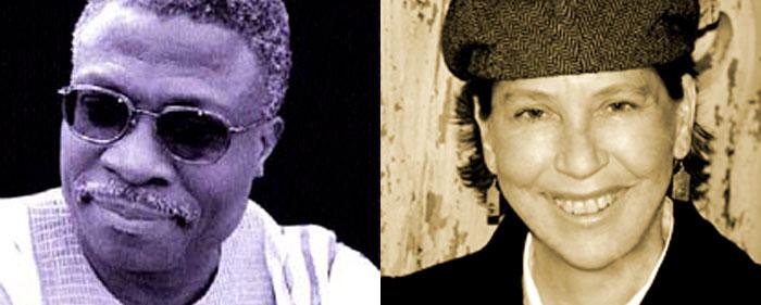 Wednesday, December 2: fiction writer Barb Johnson and Nigerian poet Niyi Osundare