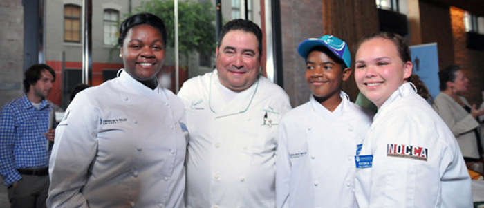 Emeril Lagasse & All-Star Judges Announce Winners Of The 'Dish That Makes A Difference' Contest