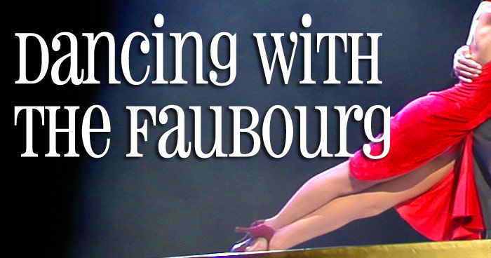 """Celebrate swing and strings on September 17 at """"DANCING WITH THE FAUBOURG"""""""