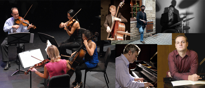 """October 13: The Faubourg Quartet & Jazz Guests Present """"Sounds of the Cinema"""""""