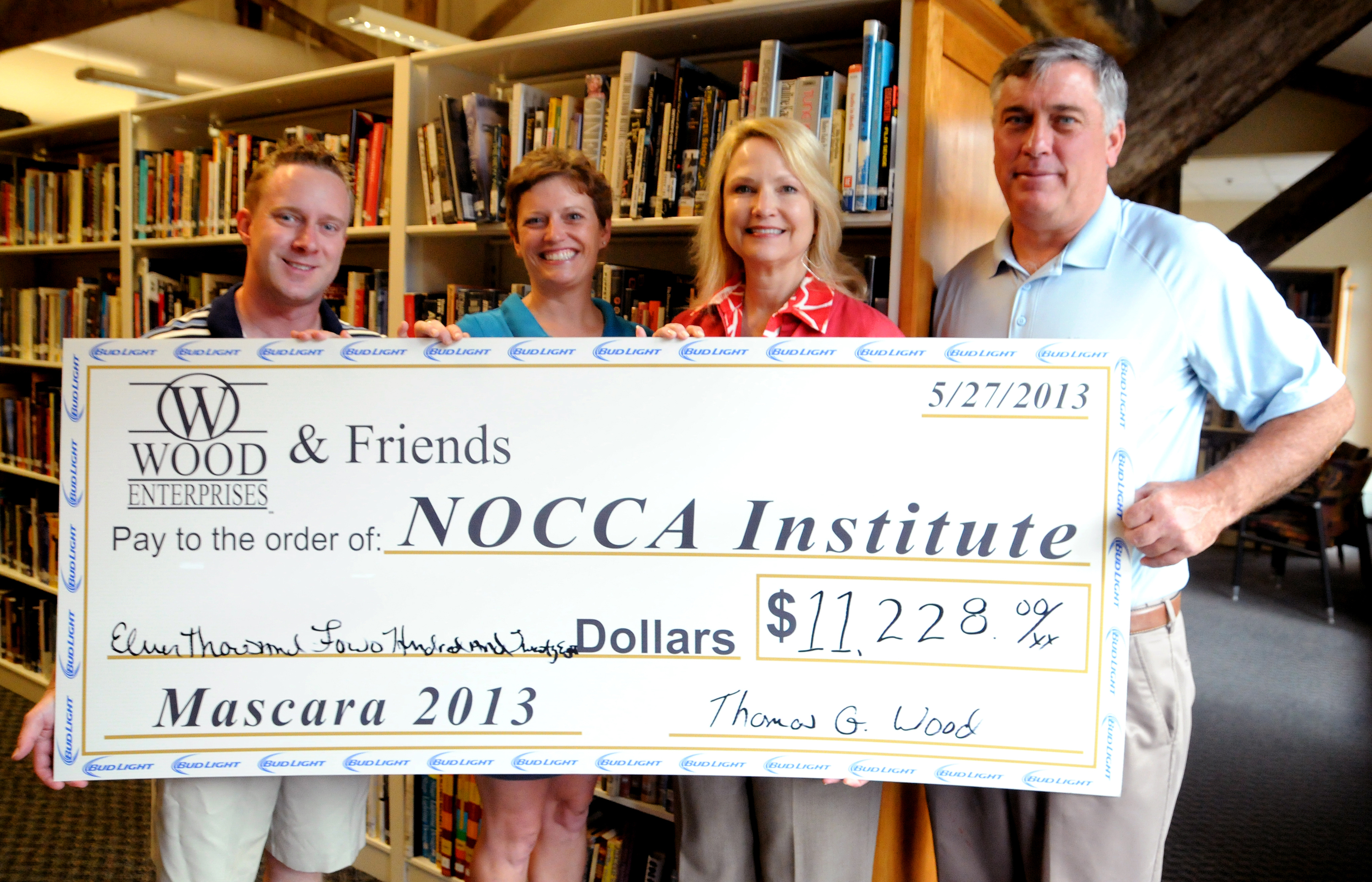 Wood Enterprises Has Raised Over $100,000 To Support The NOCCA Institute