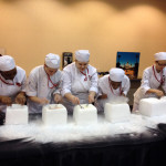 Culinary Arts students prepare for Taste of the NFL at the 2013 Super Bowl