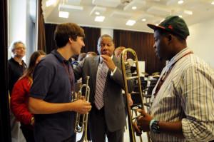 Wynton Marsalis master class, jazz