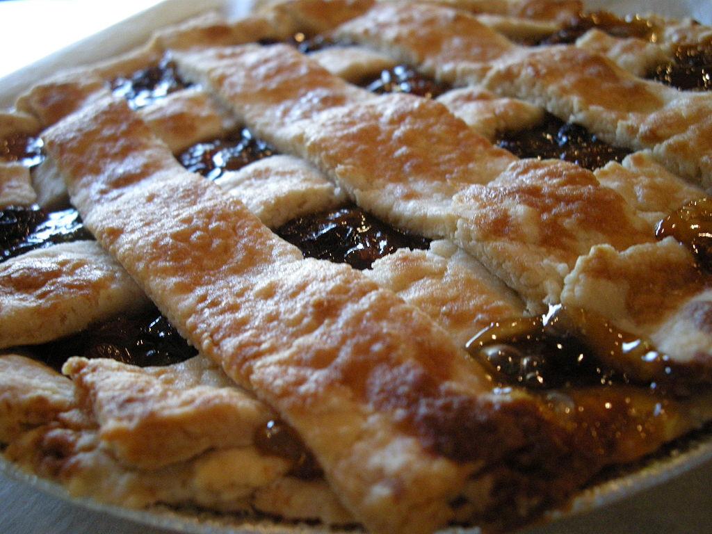 NOCCA Pie of the Month: Miss Honey's Vinegar Raisin Pie!