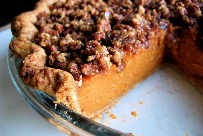 November's Pie Of The Month: Sweet Potato Pecan