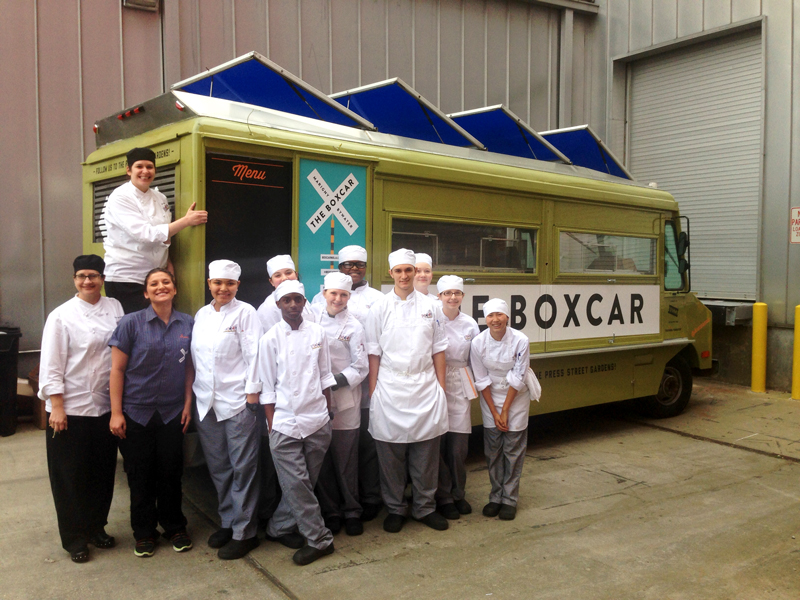The Boxcar Food Truck Is Open For Business!