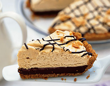 January Pie Of The Month: Peanut Butter & Chocolate Mousse