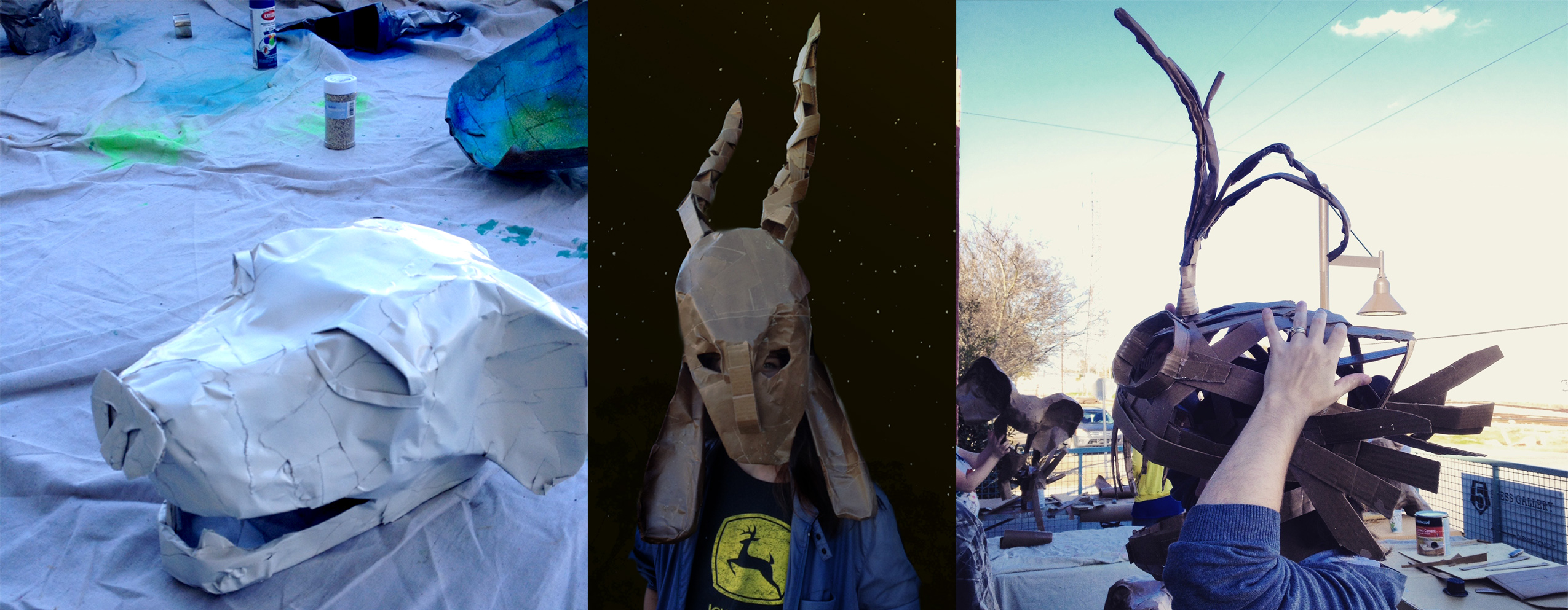 5 Press Gallery's Arts Classes For Adults: Papier-Mâché Mask-Making & Experimental Film