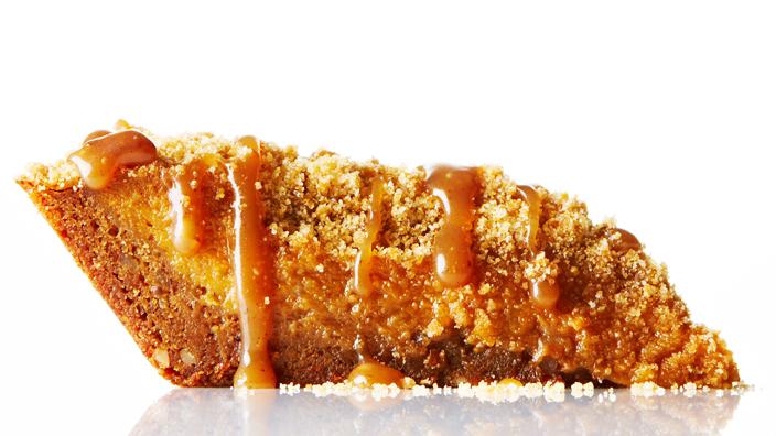 November Pie Of The Month: Pumpkin Pecan Praline