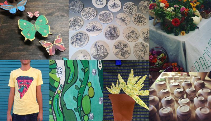 A Weekly Art Market In Press Street Gardens: Saturdays From November 28 – December 19