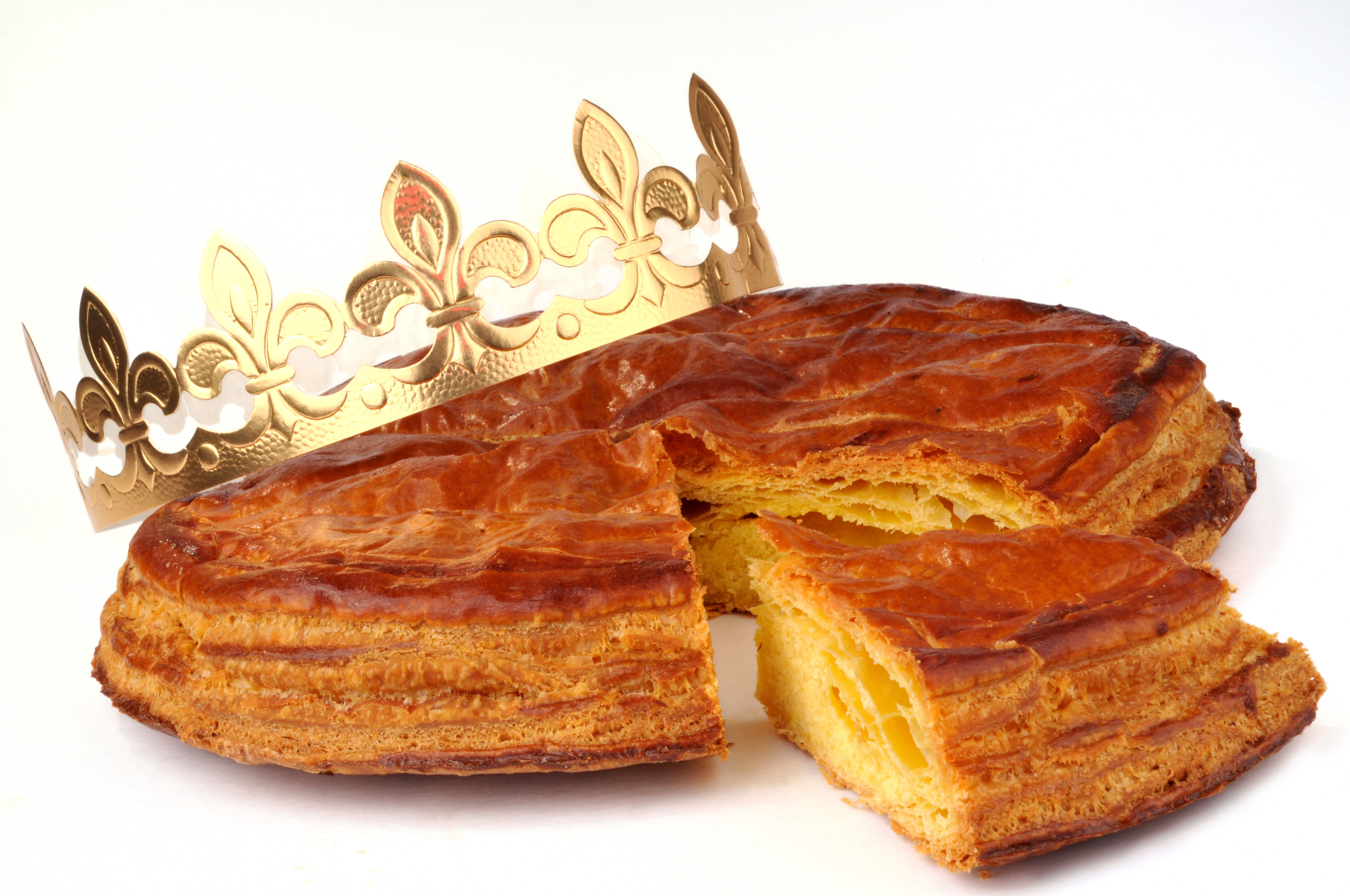 January Pie Of The Month: Handmade Galette des Rois (King Cake)