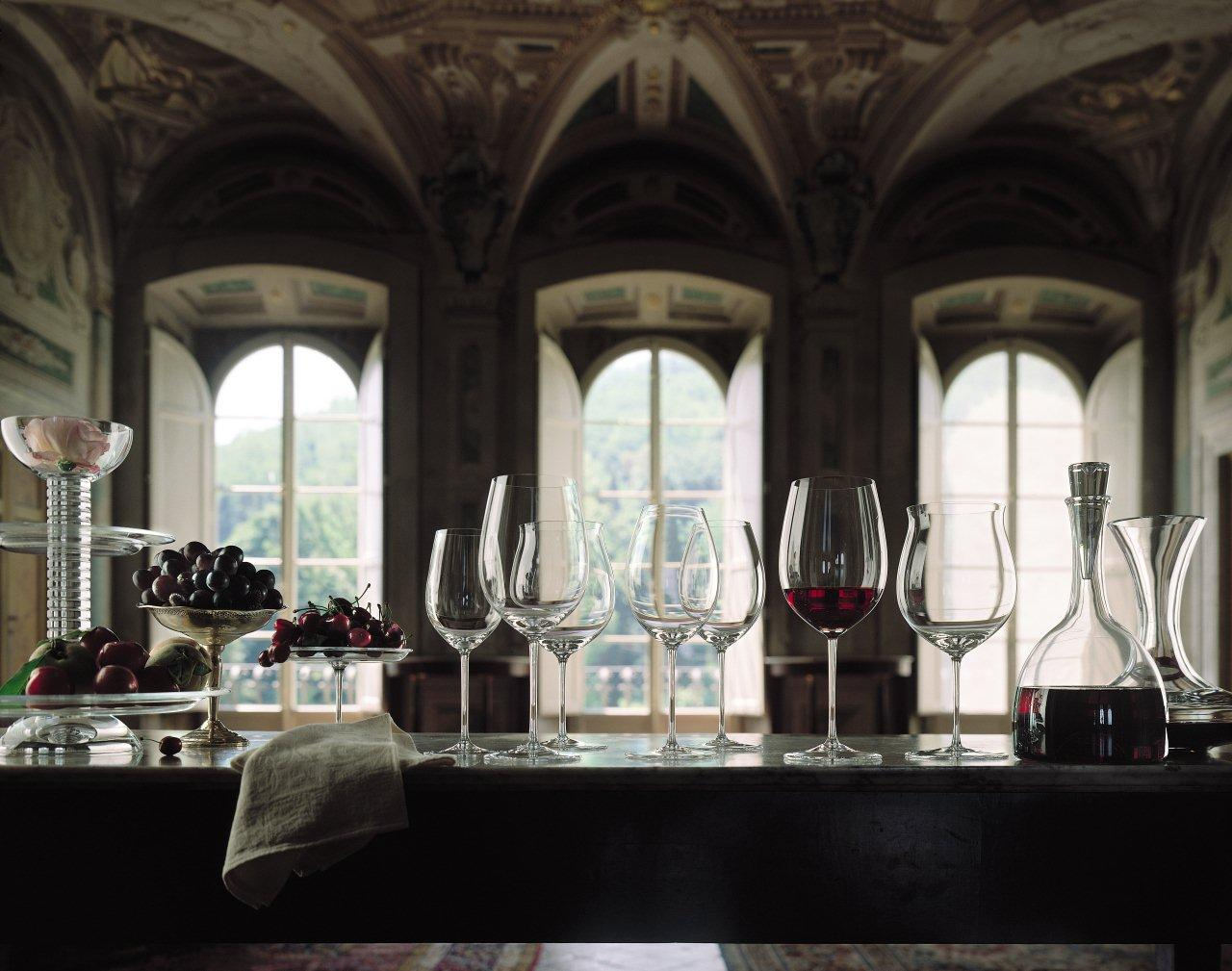The Secret of the Wine Glass: A tasting with Riedel glasses