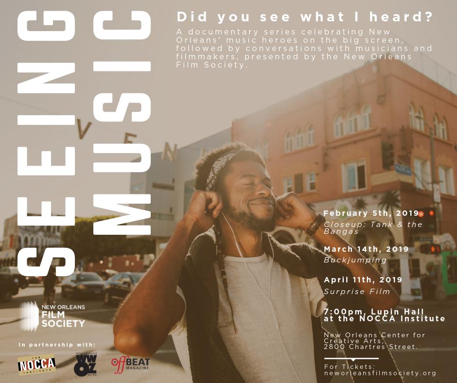 Seeing Music: A Music Documentary & Conversation Series