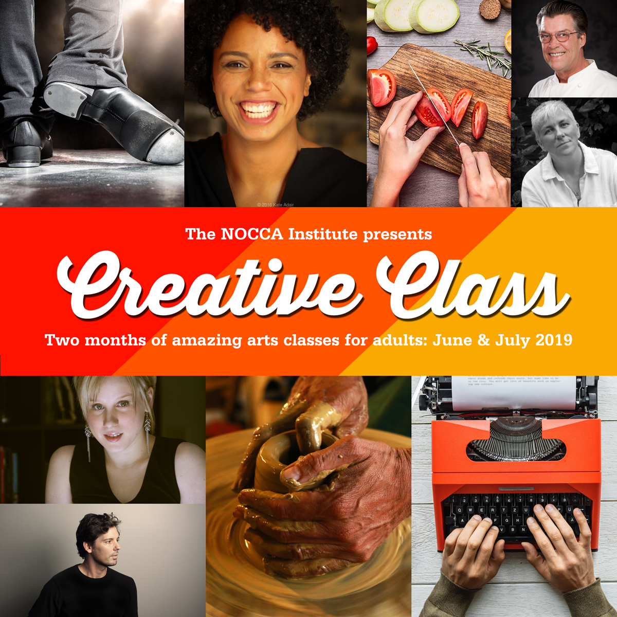 This summer, take one of our arts classes for grown-ups!
