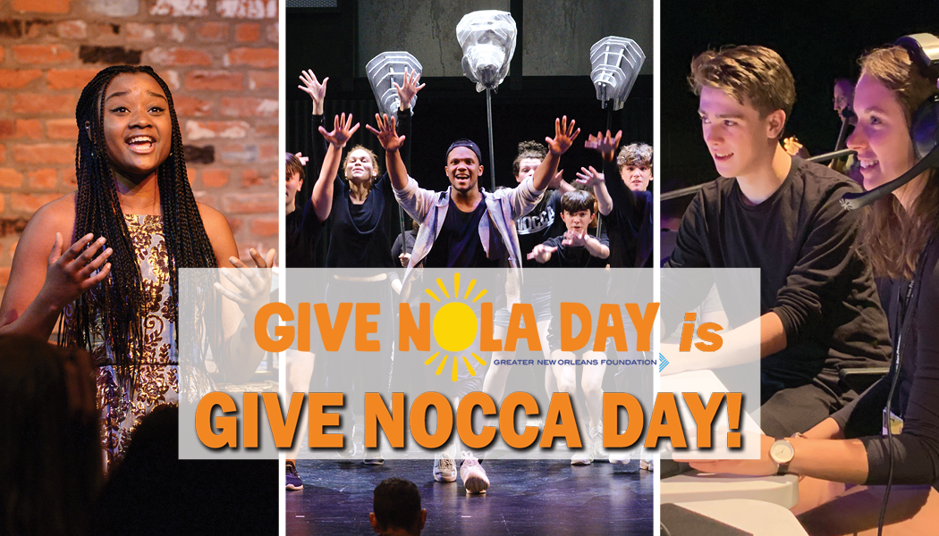 #GiveNOCCA Day is June 2