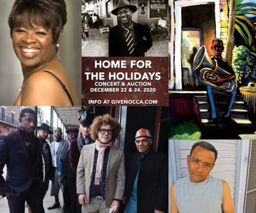 Home for the Holidays 2020, featuring Jon Batiste, Preservation Hall Jazz Band, Irma Thomas, John Boutte, and Kermit Ruffins